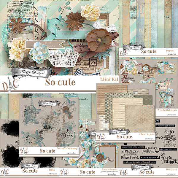 So Cute { Bundle PU } by Florju designs