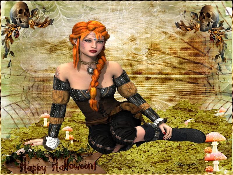 Encadrement halloween