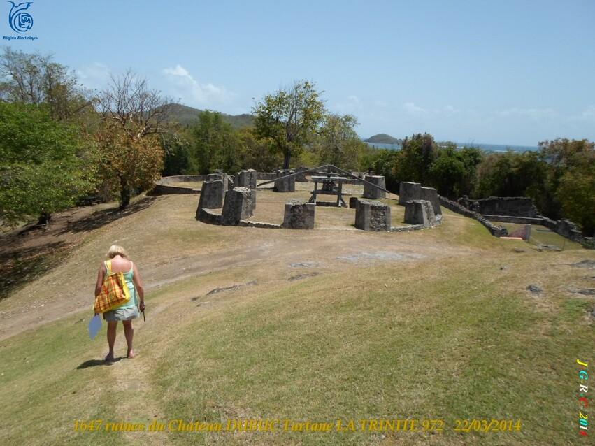 VACANCES MARTINIQUE Ruines du château DUBUC 4/4  Mars Avril 2014 14/10/2014