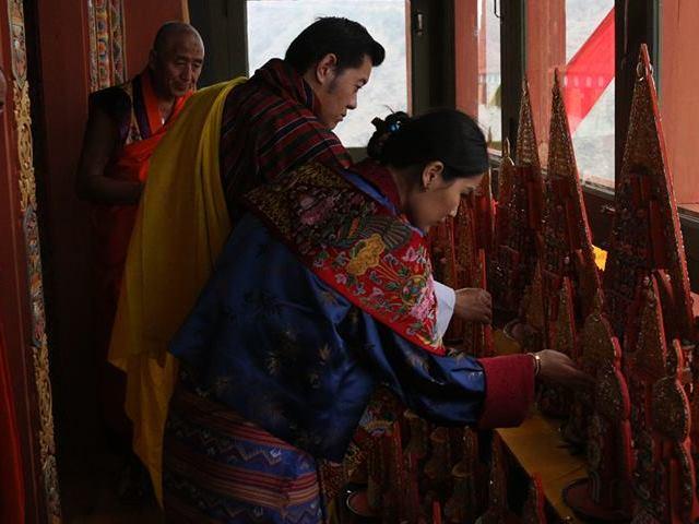 Wangduephodrang Dzong.