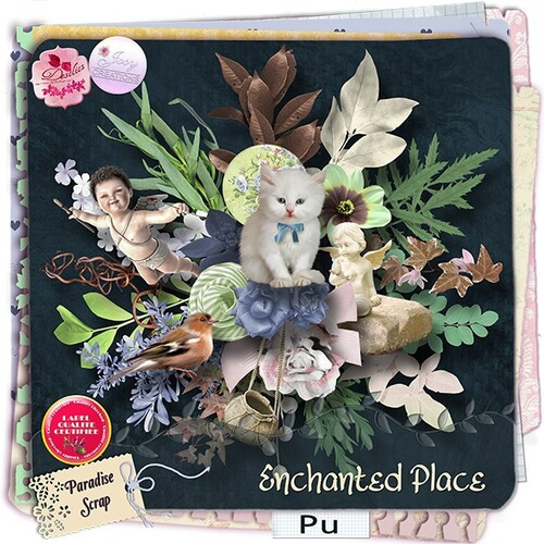 ENCHANTED PLACE COLLAB DE DESCLICS_JOSYCREATIONS