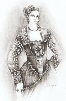 La dame de  Paolo Veronese part à Omsk