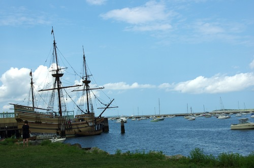 Plymouth et le Mayflower