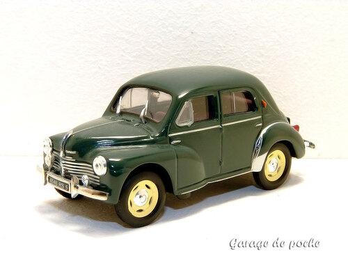 4cv Grand luxe 1950