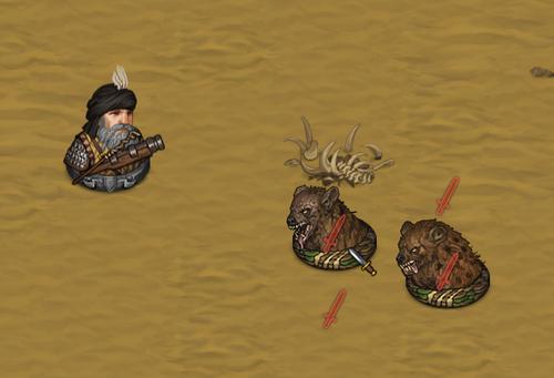 Battle Brothers, DLC Blazing Deserts, les armes à feu*