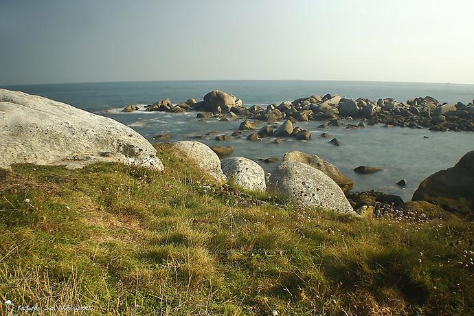 Les bords de l'Océan à Plouescat