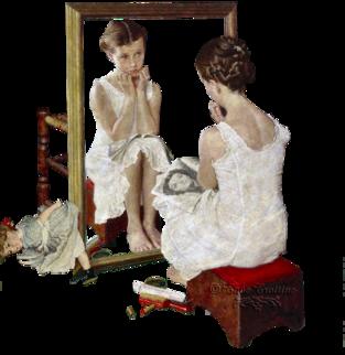 Le miroir d'un fou