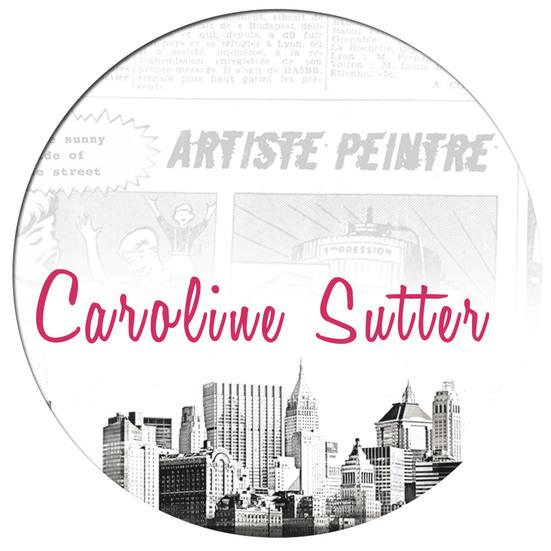 Caroline Sutter by Elucidée