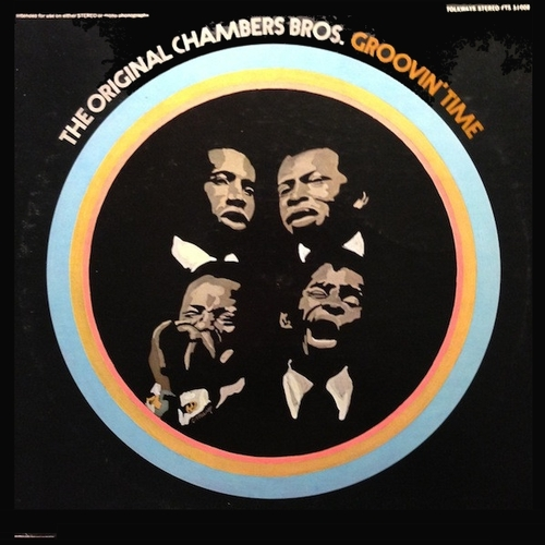 "The Chambers Brothers : Album "" Groovin' Time "" Folkways Records FTS 31008 [ US ]"