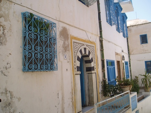 Sidi Bou Saîd en Tunisie (photos)