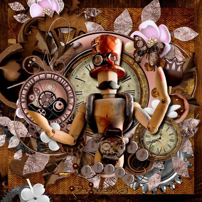 mercredi  en steampunk et chocolate