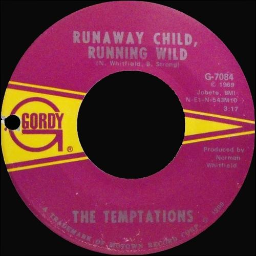 """The Temptations : Album """" Cloud Nine """" Gordy Records GS 939 [ US ]"""