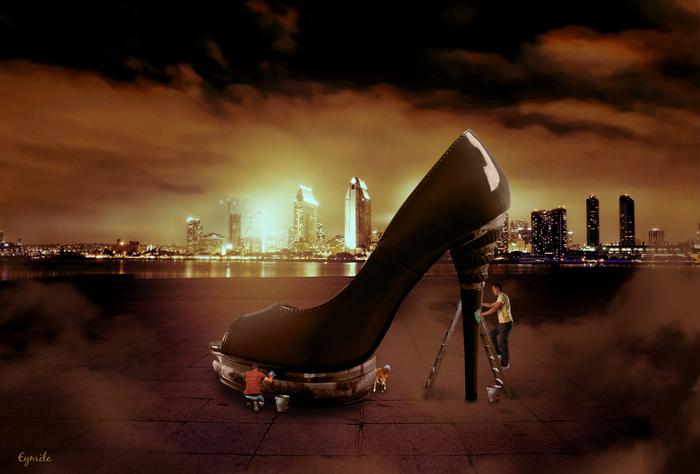 Cireurs de chaussure
