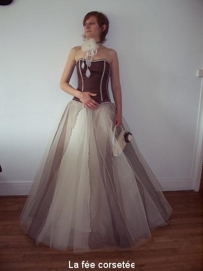 Robe de mariée en tulle!