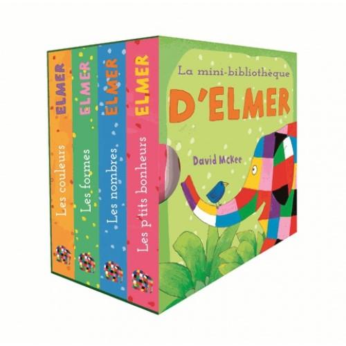 La mini bibliothèque d'Elmer - David McKee