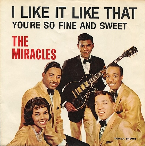 "The Miracles : Album "" I Like It Like That "" Tamla Motown Records TML11003 [UK]"