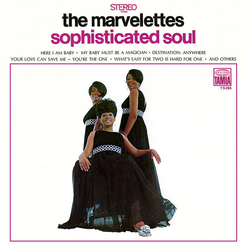 "The Marvelettes : Album "" Sophisticated Soul "" Tamla Records TS 286 [ US ]"