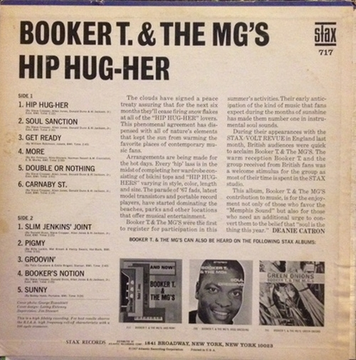 "1967 : Album "" Hip Hug-Her "" Stax Records S 717 [ US ]"