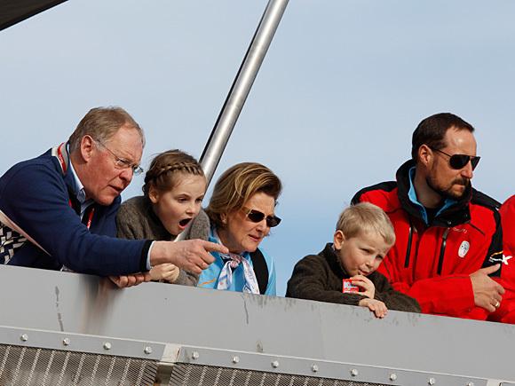 Famille norvégienne