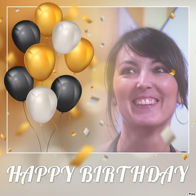 Joyeux anniversaire Leslie
