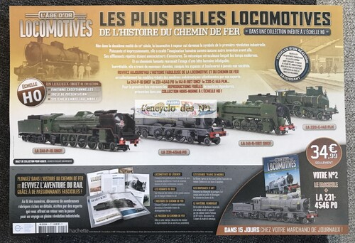 N° 1 L'âge d'or des locomotives - Test