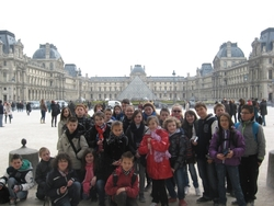 Lundi 8 avril : Départ pour Paris !