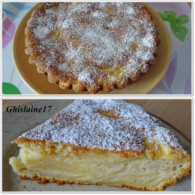 Gâteau moelleux et léger aux pommes