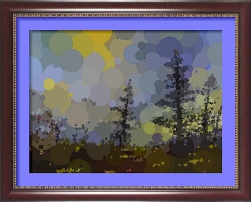 Dessin et peinture - vidéo 2299 : Vers la fin du mois d'octobre - huile ou acrylique.