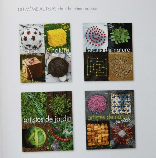 Découverte du LAND ART avec les livres de Marc POUYET