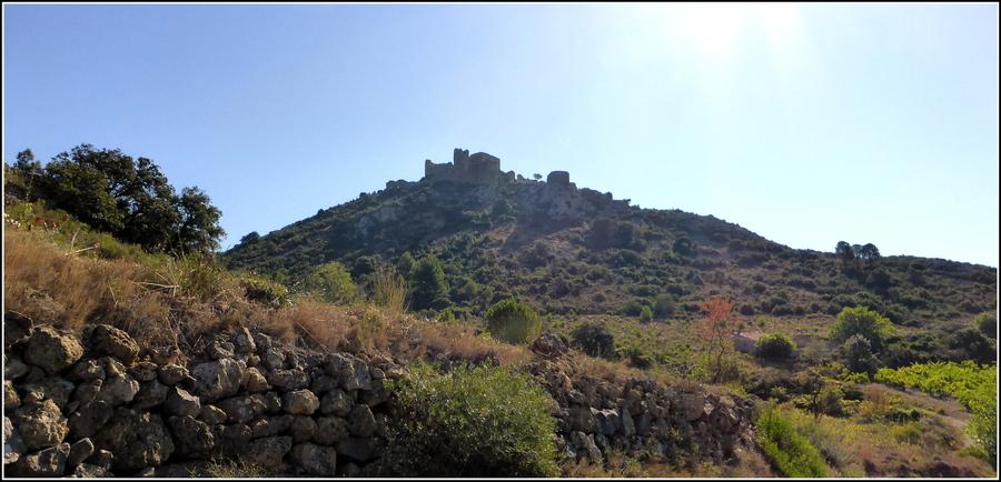 Les Château Cathares : Aguilar, suite et fin.