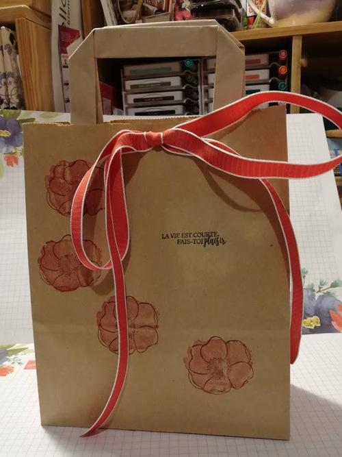 atelier chez Fabienne : les cadeaux.....