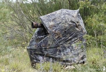 Stealth Gear Tente d'affût 1 personne avec siège intégré