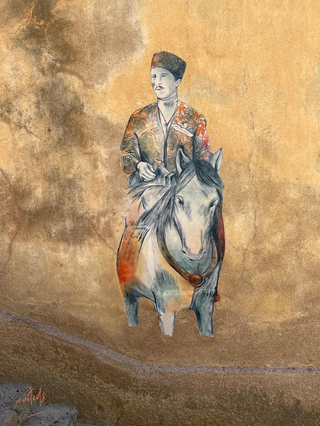 Fresques - citadelle de Calvi