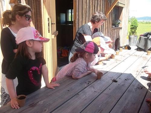Sortie à la ferme pédagogique (après-midi)