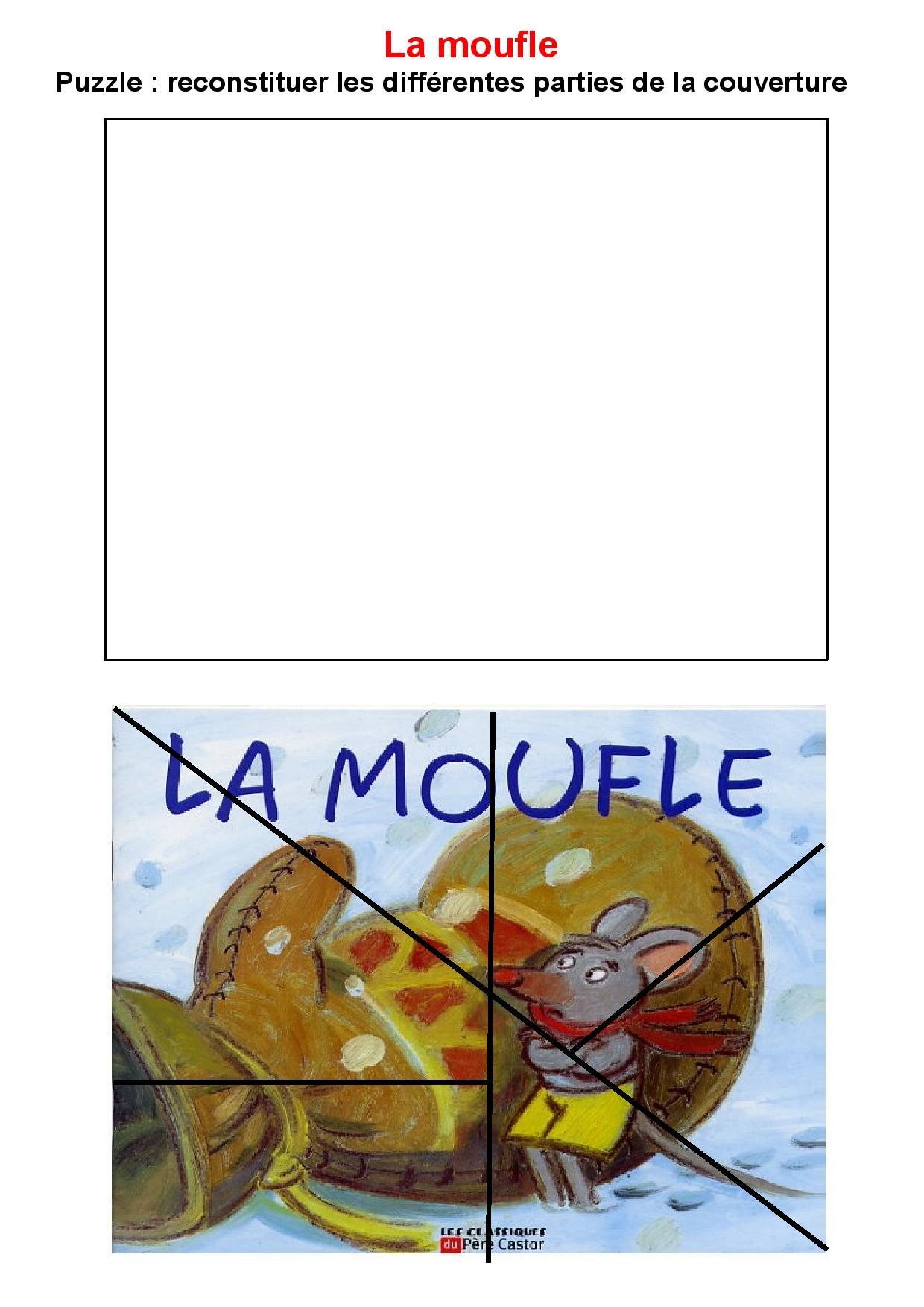 maternelle litt u00e9rature album la moufle exploitation album
