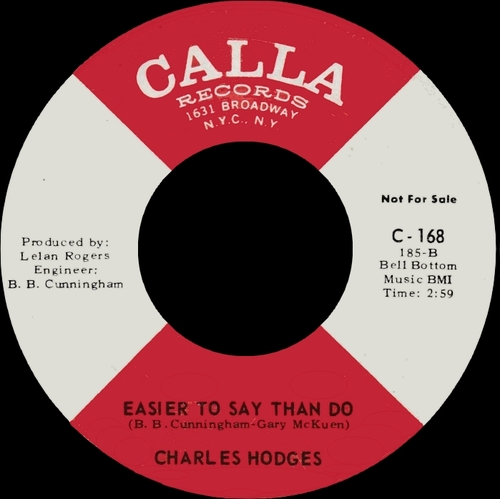 "Charlie Hodges : CD "" The Day He Made You "" Soul Bag Records DP 151 [ FR ]"