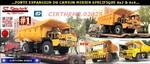 CHINE: forte expansion du camion minier spécifique 4x2 & 4x4.