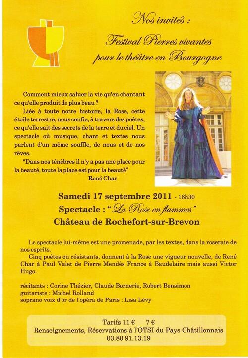 Le Festival Forêt et Patrimoine, par l'Association Châtillon-Scènes...