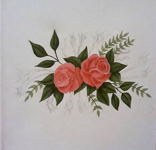un bouquet pour grand-mère