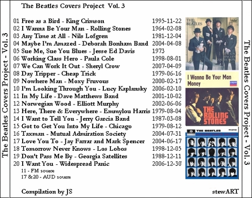 Cover me # 12  : The Beatles Covers Project Volume 3 - Various Artists