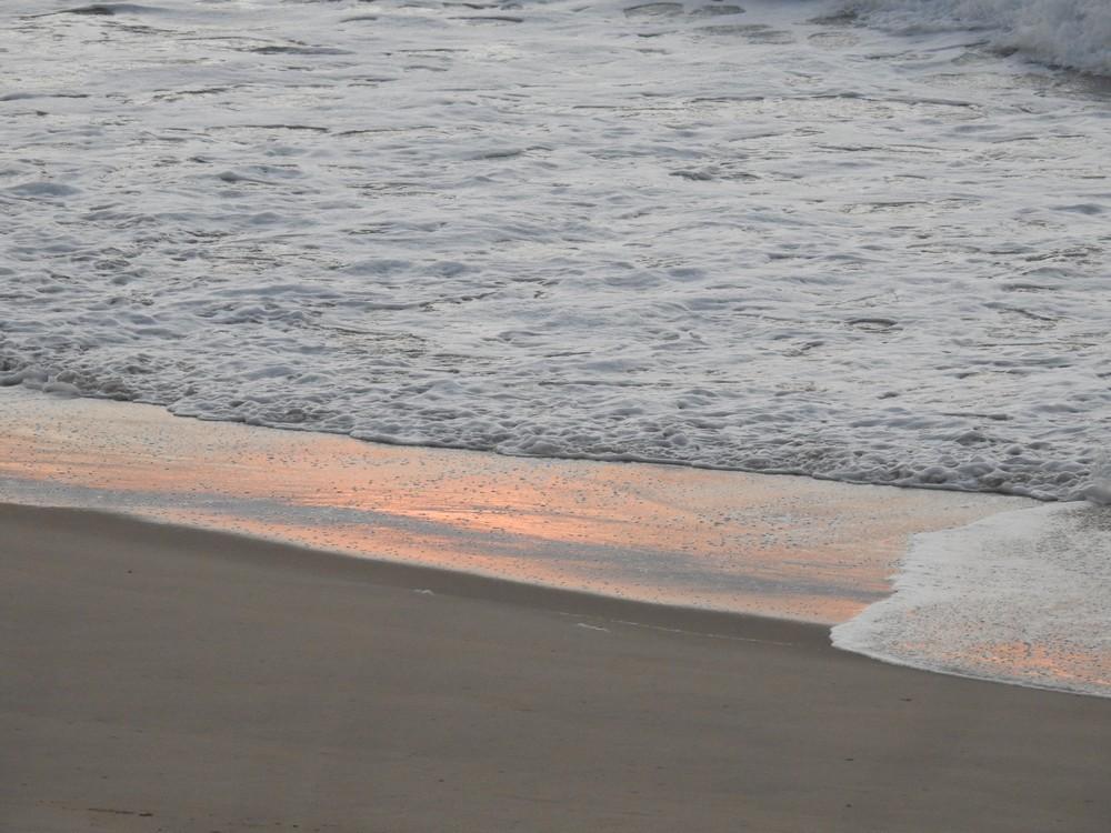 Coucher de soleil sur l'Océan - novembre 2017...