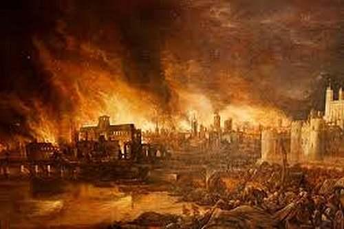 2 septembre 1666 : Incendie de Londres