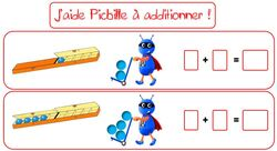 Additionner avec Picbille