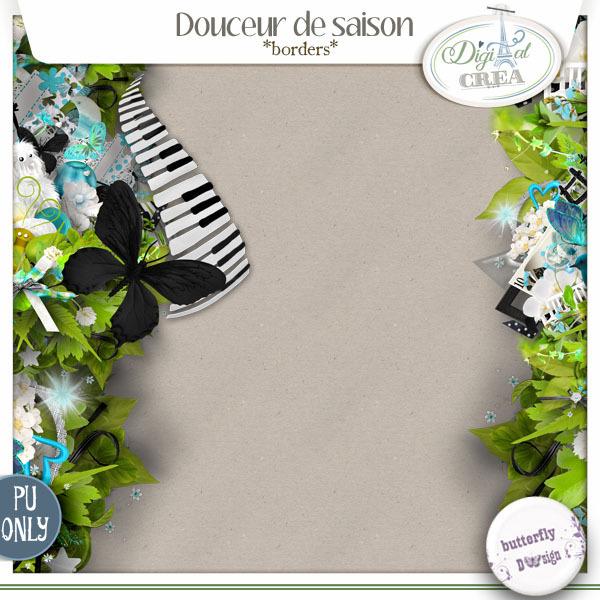Douceur de saison Borders by butterflyDsign
