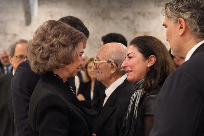 Funeral en memoria de Doña Montserrat Caballé i Folch