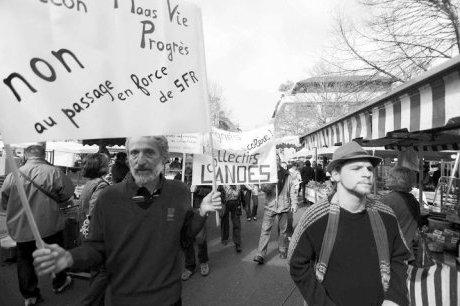 Manisfestation à Dax