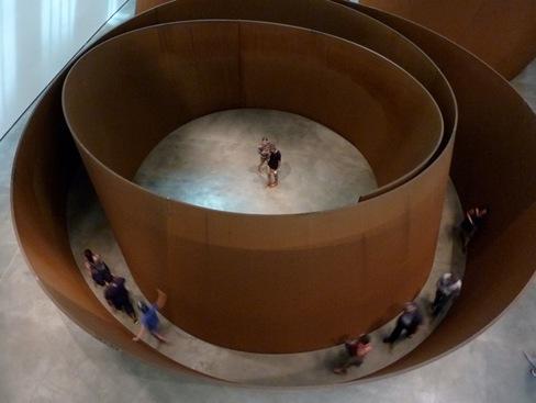 Au Musée Guggeihem à Bilbao