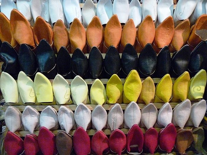 Les tapis, le cuir