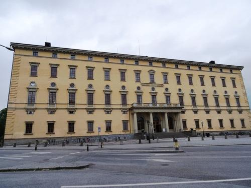 Autour du château d'Uppsala en Suède (photos)