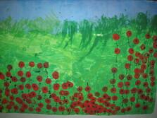 Les Coquelicots comme Claude Monet